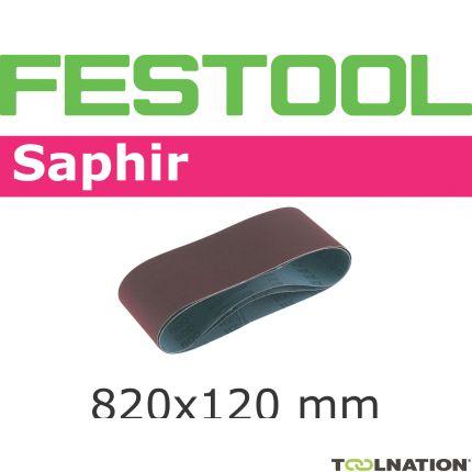 Schleifband 820x120-P80-SA/10 488082