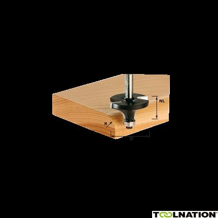 Abrundfräser HW S8 D25,5/R6,35 KL 491013