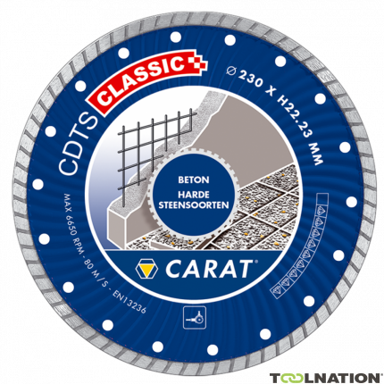 CDTSC11530 Diamanttrennscheibe CDTS CLASSIC 115x22.2MM