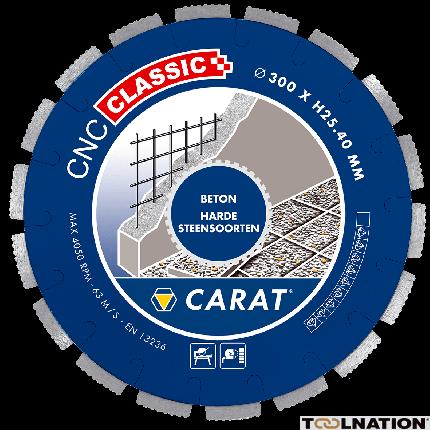 CNCC300400 Diamanttrennscheibe BETON CNC CLASSIC 300x25,4MM