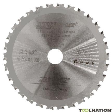 HM zaagblad 137 mm 30T voor INOX