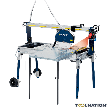 P-3515 Laser-Steinsäge + Seitentisch + Diamanttrennscheibe 230 Volt!
