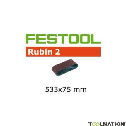 Schleifband L533X 75-P100 RU2/10 499158