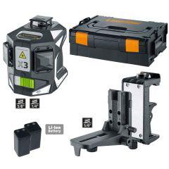 X3-Laser Pro Dreidimensionaler Laser grün 360°