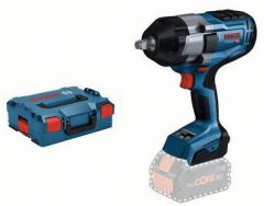 """GDS 18V-1000 Schlagschrauber 1/2 """"1000 Nm 18 Volt ohne Akku oder Ladegerät in L-Boxx 06019J8301"""