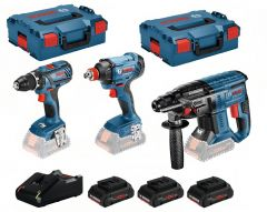 0615990L57 3 Tool Kit 18V - 3 Maschinen + 3 x ProCore 18V 4,0Ah Li-Ion