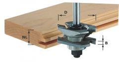 Profil-Nutfräser HW S8 D46 x D12-NT 490645
