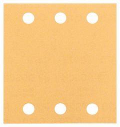 Schleifblatt Wood and Paint 10er-Pack,115x107mm,K80 2608607457