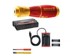 44318 E-Schraubendreher speedE® 2 electric 7-teilig in L-Boxx