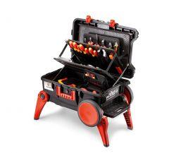 44128 XXL III electric Elektriker Werkzeugkoffer bestückt 100 teilig (B x H x T) 685 x 501 x 345mm
