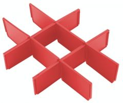Einlage für die Packout-Werkzeugkoffer mit 3 Schubladen 4932479104
