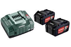 685051000 Basis-Set - 2 x Akku 18V 5,2Ah Li-Ion Li-Power + ladegerät ASC145