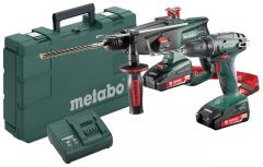685083000 Werkzeugset 2.3.2 18V 2,0Ah Li-Ion - BS18 Akku Bohrmaschine + KHA18LTX Bohrhammer