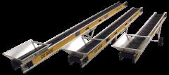 30011 CU 6.0 m Förderband mit Steuereinheit für Serienschaltung 6.0 m240 Volt