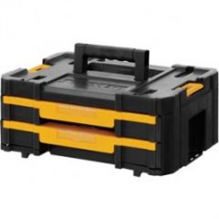 DWST1-70706 TSTAK™ IV Werkzeugbox mit zwei Schubladen und Innenteilern