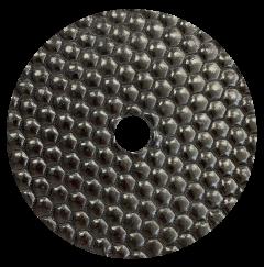 Diamant Polijstschijf Droog 125mm Buff zwart