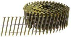 F-31346 Nägel auf Rolle 3.2 x 90 mm Galva Ring / gelb beschichtet 4050 Stück