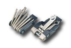 Multitool 6166-18 Fahrradschlüssel-Set 18-teilig mit Gürteltasche
