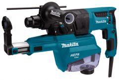 HR2652J Bohrhammer mit Staubabsaugung SDS-Plus 800 Watt