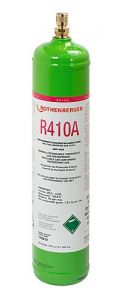 Kältemittel R410A, 1l, 40bar-Stahlflasche 170912