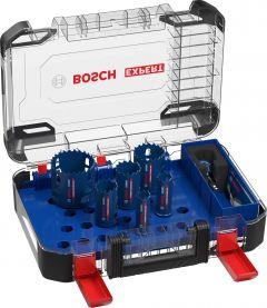 Expert Tough Material Lochsäge-Set, 22/25/35/40/51/68mm, 9-tlg.