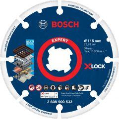 Expert Diamond Metal Wheel X-LOCK Trennscheibe, 115 x 22,23mm