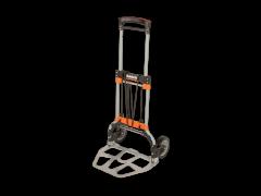 Klappbare Transportkarre mit Ablagen aus Aluminium, 497mm×520mm×1077mm 1430FT120