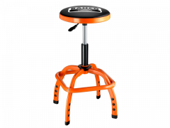 Gepolsterter Werkstatt Drehhocker Stuhl, pneumatisch BLE305