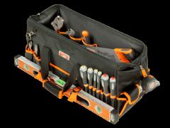 Stoff-Werkzeugtasche, oben geschlossen, mit festem Boden, 48l, 260mm×255mm×610mm 4750FB2-24A
