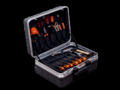 Stabiler Hartschalenkoffer auf Rädern mit Werkzeugsatz für den Allzweckeinsatz - 32-teilig 984010320