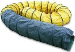 Wärmeschläuche PVC schwarz-gelb 407 mm 7,6 mtr