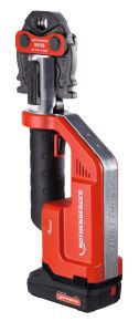 ROMAX Compact TT Akku Pressmachine 18 Volt 2.0 Ah L-ion Pressbacken-Set U16-20-25