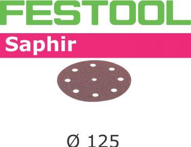 Schleifscheiben STF D125/8 P80 SA/25 493127