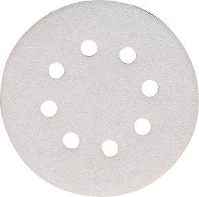 Schleifblatt 125 mm Korn 120 Weiß 10 Stk.