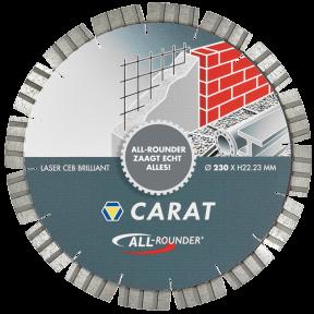"""CEB1253010 DiamanttrennscheibeLASER UNIVERSAL BRILLIANT, TYP """"ALLROUNDER"""" 125x22,2MM"""