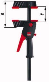 DUO45-8 DuoKlamp Einhandklemme 0-450mm