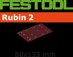Schleifstreifen STF 80X133 P120 RU2/10 499058