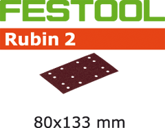 Schleifstreifen STF 80X133 P100 RU2/10 499057