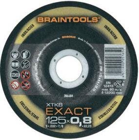 XT8 Exact Trennscheibe extra dünn Metall/Edelstahl 125 x 0,8 x 22,23 mm